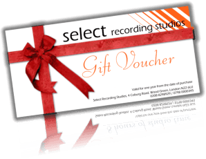 Rapper Recording Gift Voucher