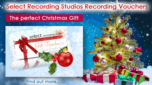 Christmas recording gift vouchers