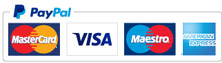 Credit / Debit Cards and Paypal